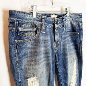 Taverniti So Jeans Jamie Flare Leg Size 30
